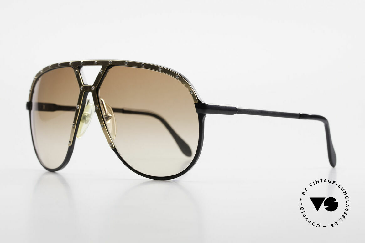 Alpina M1 80er Brille Keine Retrobrille, zu sehen auf Plattencovern, Fotos und Konzerten, Passend für Herren