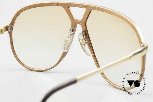 Alpina M1 Rare 80s Vintage Brille Orange, KEINE RETROBRILLE; ein 35 Jahre altes Original, Passend für Herren