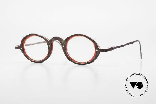 Theo Belgium Eye-Witness GG Avantgarde Brille 90er Jahre Details