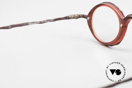 Theo Belgium Eye-Witness GG Avantgarde Brille 90er Jahre, KEINE RETRObrille, sondern ein altes 90er Jahre Original, Passend für Herren und Damen
