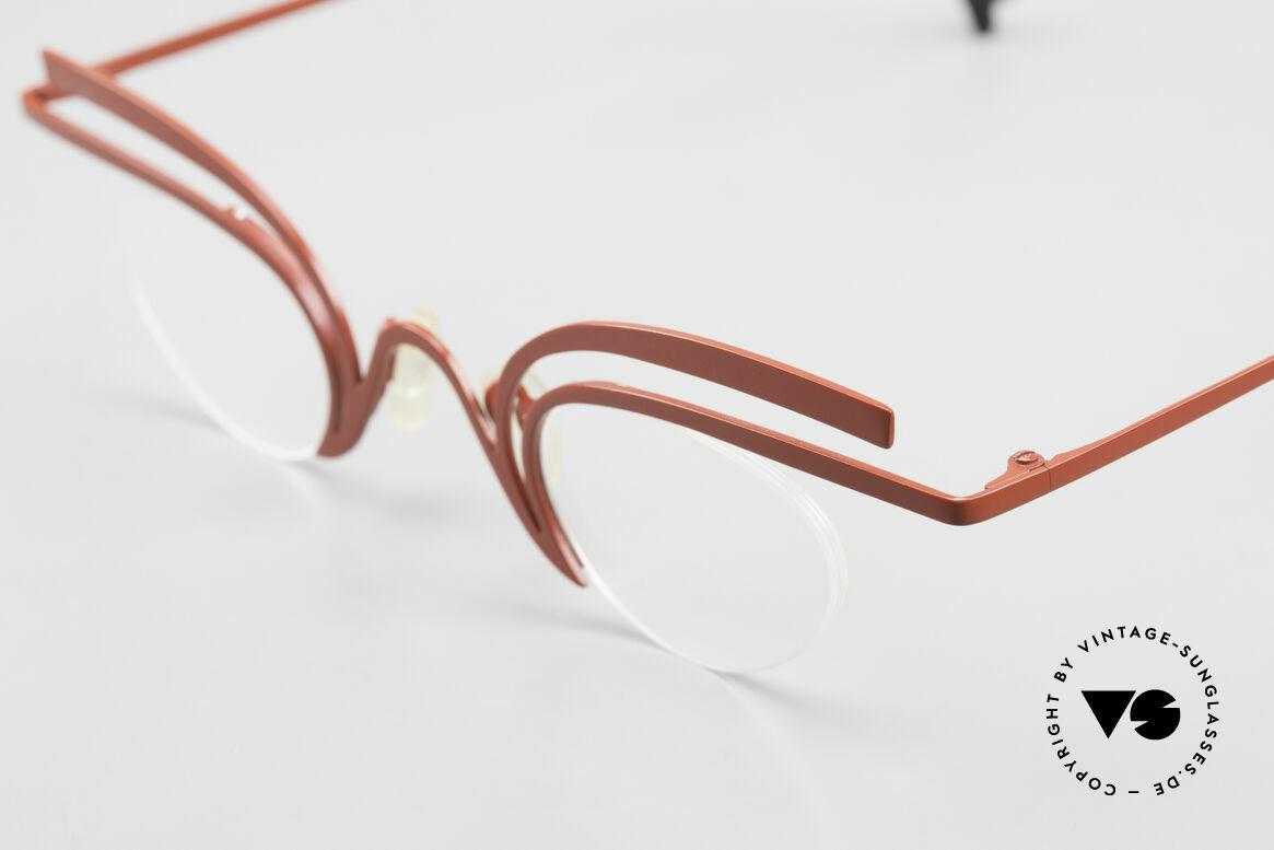 Theo Belgium Fly Verrückte Vintage Brille Damen, ungetragenes Theo-Exemplar für die, die sich trauen, Passend für Damen