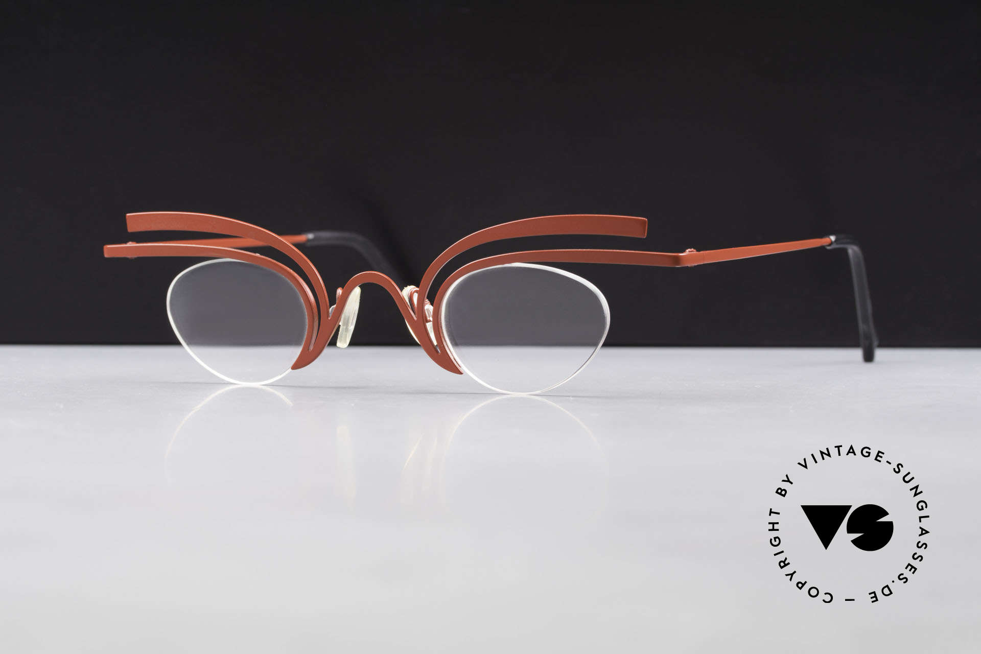 Theo Belgium Fly Verrückte Vintage Brille Damen, Größe: medium, Passend für Damen