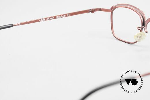 Theo Belgium Armes Vollrandfassung Metall Brille, sozusagen: eine Designer-Brille mit Symbol-Charakter, Passend für Herren und Damen