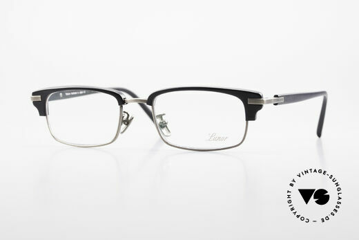 Lunor Combi II Mod 80 Kombibrille Titanium Japan Details