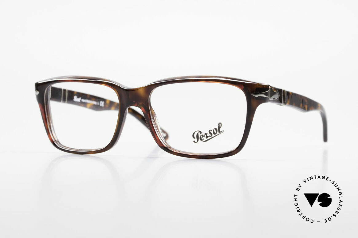 Persol 2895 Klassisch Zeitlose Unisex Brille, Persol Brille, Unisex Modell 2895, Gr. 54/16, 140, Passend für Herren und Damen
