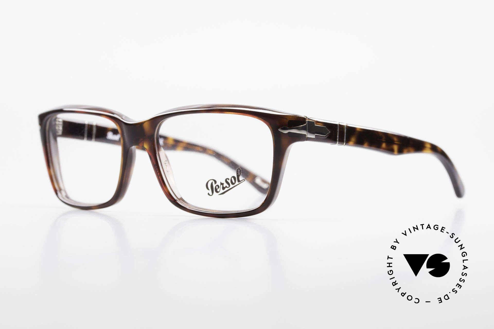 Persol 2895 Klassisch Zeitlose Unisex Brille, hochwertigste Materialien und Fertigungsqualität, Passend für Herren und Damen