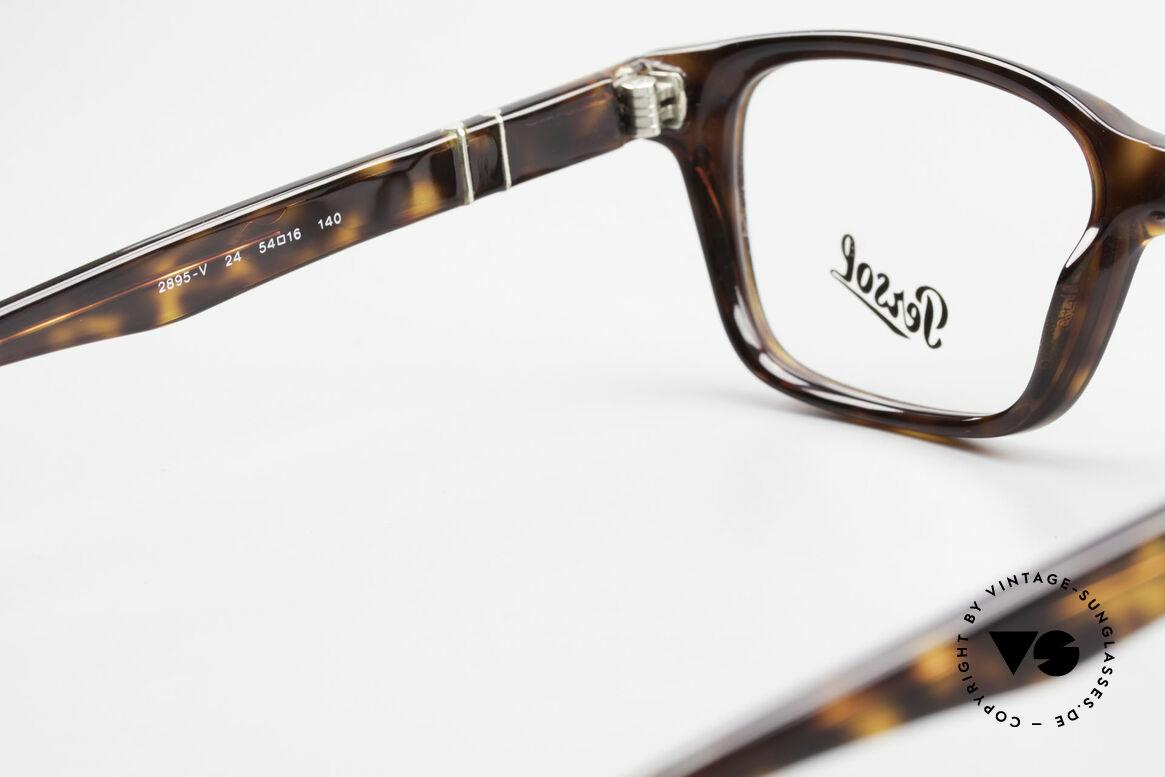 Persol 2895 Klassisch Zeitlose Unisex Brille, eine Neuauflage der alten Brillen von Persol Ratti, Passend für Herren und Damen