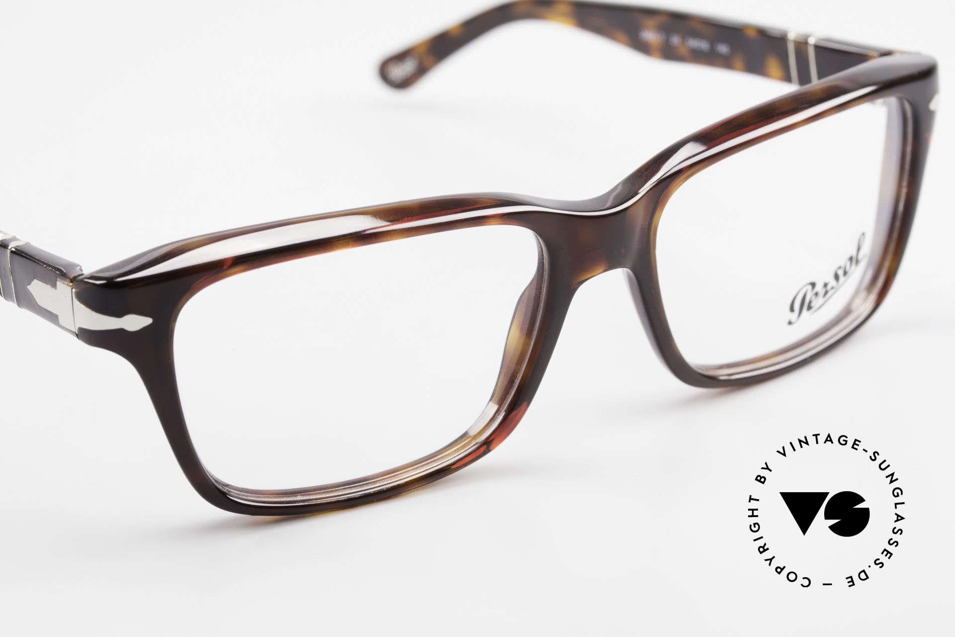 Persol 2895 Klassisch Zeitlose Unisex Brille, Größe: medium, Passend für Herren und Damen