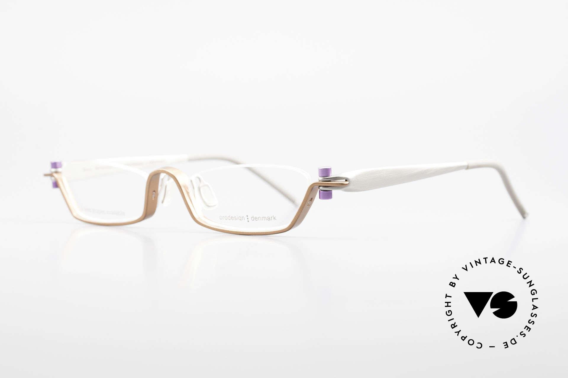 ProDesign 9901 Designer Brille Gail Spence, der Nachfolger der berühmten N°ONE FILMBRILLE, Passend für Herren und Damen