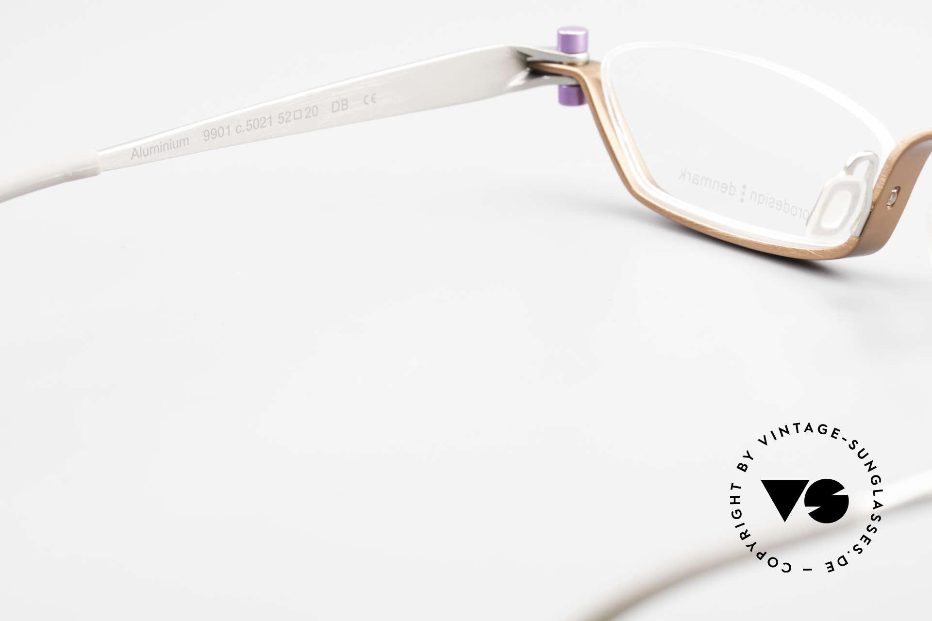 ProDesign 9901 Designer Brille Gail Spence, orig. Pro Design DEMO Gläser + Etui von ProDesign, Passend für Herren und Damen