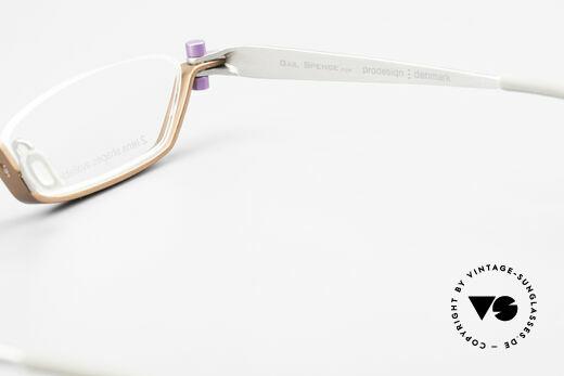 ProDesign 9901 Designer Brille Gail Spence, Größe: extra large, Passend für Herren und Damen