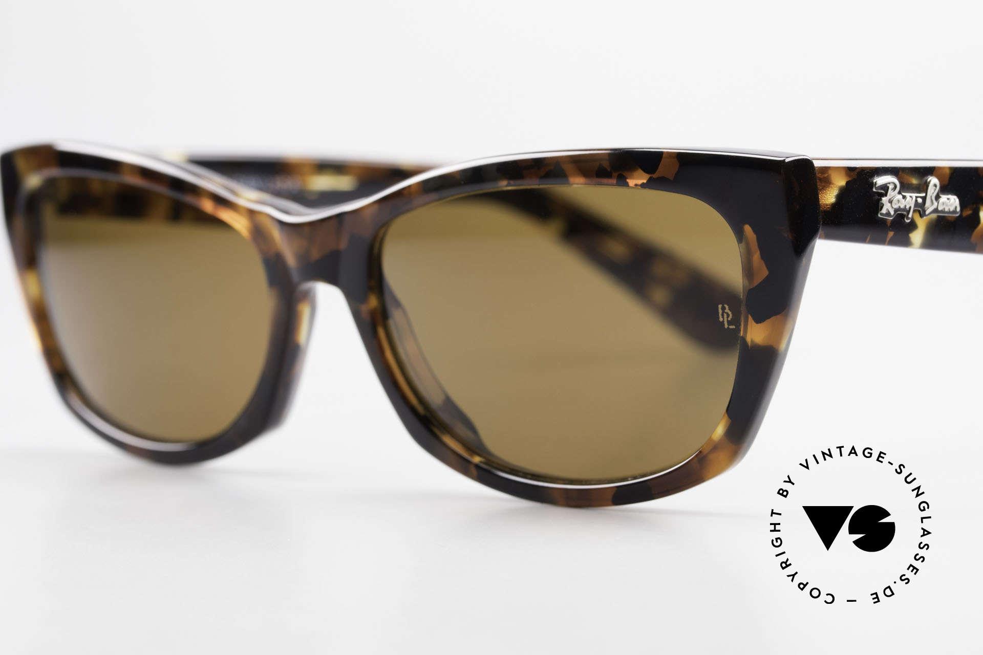 Ray Ban Innerview Alte B&L USA Sonnenbrille, legendäre B&L B15 Mineralgläser (100% UV Schutz), Passend für Damen