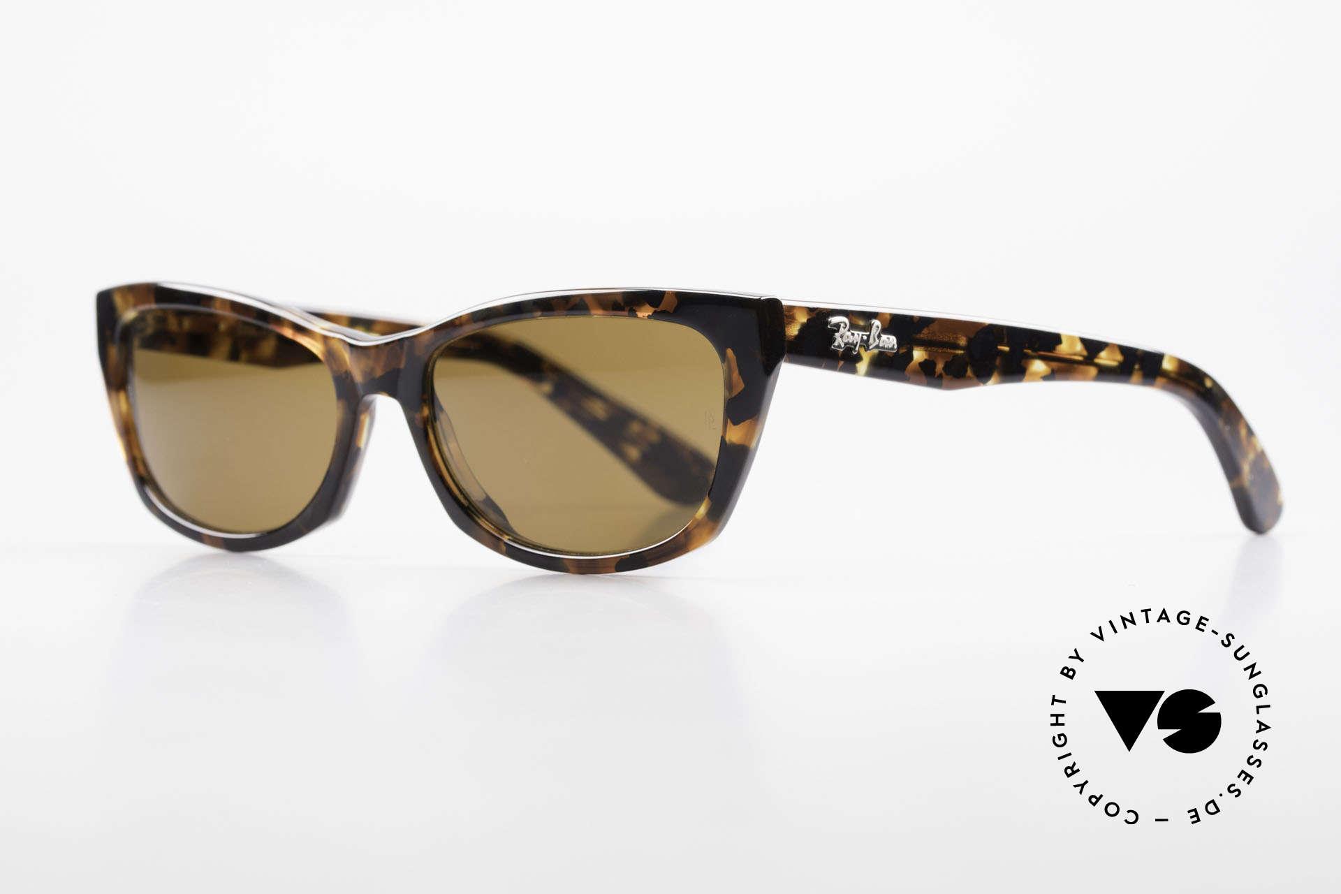 Ray Ban Innerview Alte B&L USA Sonnenbrille, zauberhaftes Design und tolle Farbe; einfach schön, Passend für Damen