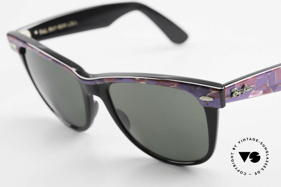 Ray Ban Wayfarer II Original Mosaic Wayfarer B&L, KEINE retro Sonnenbrille, 100% vintage ORIGINAL, Passend für Herren und Damen