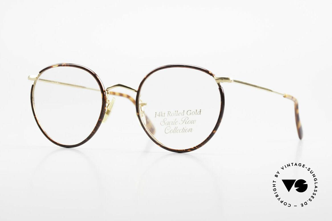 Savile Row Panto 49/20 Johnny Depp Brille Panto, 'The Savile Row Collection' von ALGHA, UK Optical, Passend für Herren