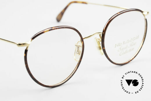 Savile Row Panto 49/20 Johnny Depp Brille Panto, ungetragen in Gr. 49/20; mit orig. DEMO-Gläsern, Passend für Herren