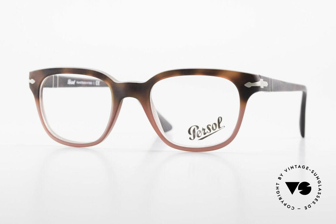 Persol 3093 Unisex Fassung Klassiker Brille, Persol Brille, Modell 3093 in SMALL Größe 48-20, Passend für Herren und Damen