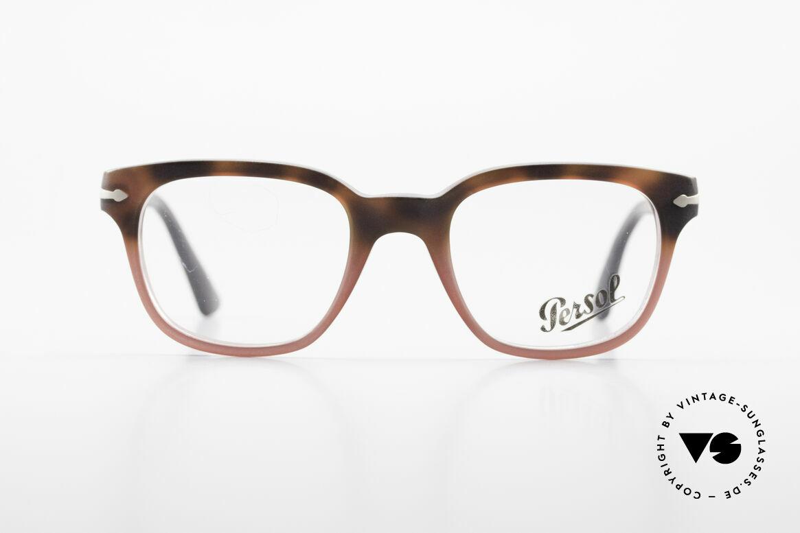 Persol 3093 Unisex Fassung Klassiker Brille, klassische Brillenform in einem zeitlosen Design, Passend für Herren und Damen