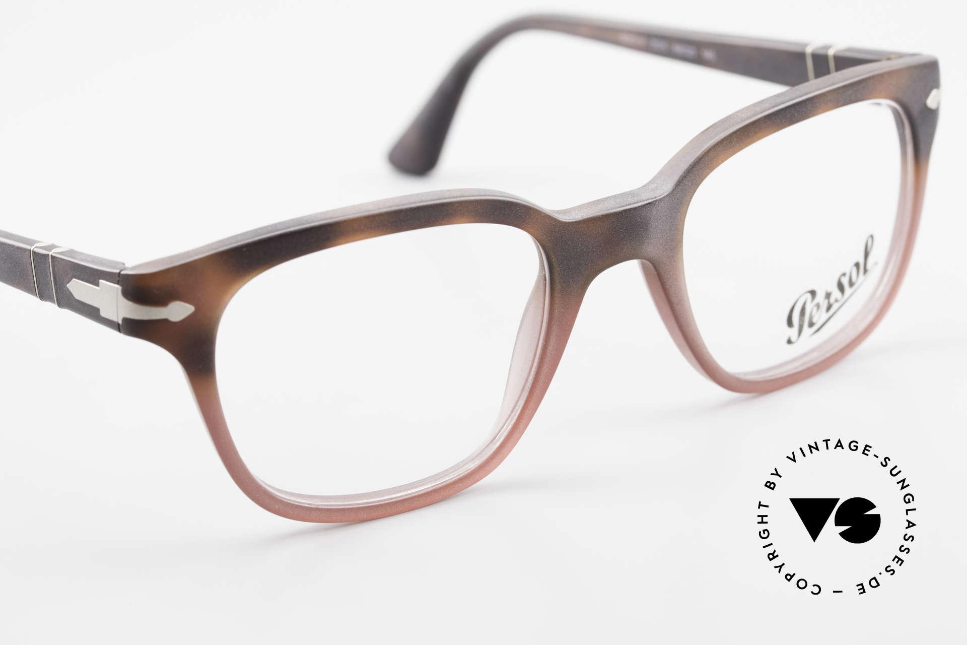 Persol 3093 Unisex Fassung Klassiker Brille, eine Neuauflage der alten Brillen von Persol Ratti, Passend für Herren und Damen