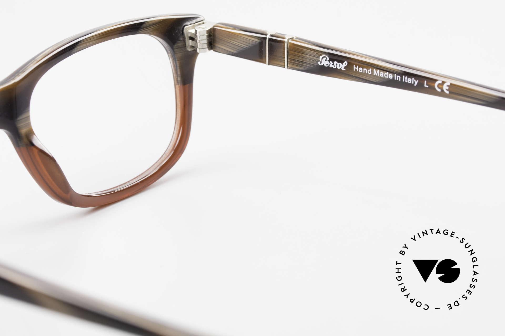 Persol 3029 Kleine Persol Brille Unisex, Größe: small, Passend für Herren und Damen