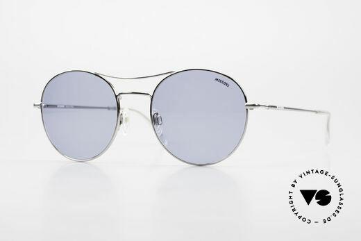 Missoni 0439 Round Aviator Sonnenbrille Details