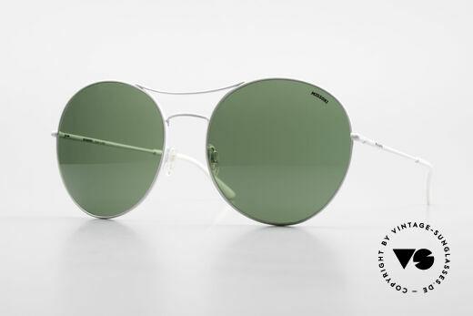 Missoni 0440 Oversized Aviator Sonnenbrille Details