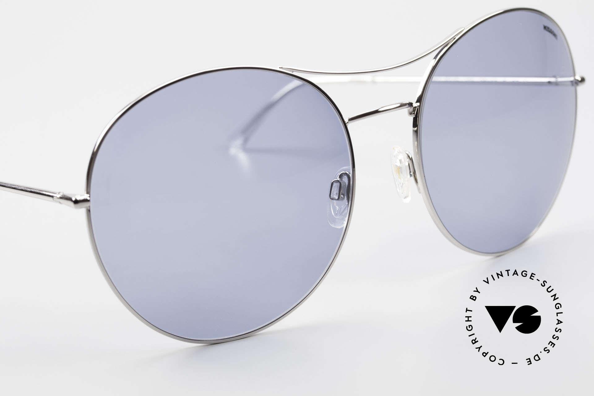 Missoni 0440 90er XXL Aviator Sonnenbrille, ungetragen (wie alle unsere MISSONI Sonnenbrillen), Passend für Herren und Damen
