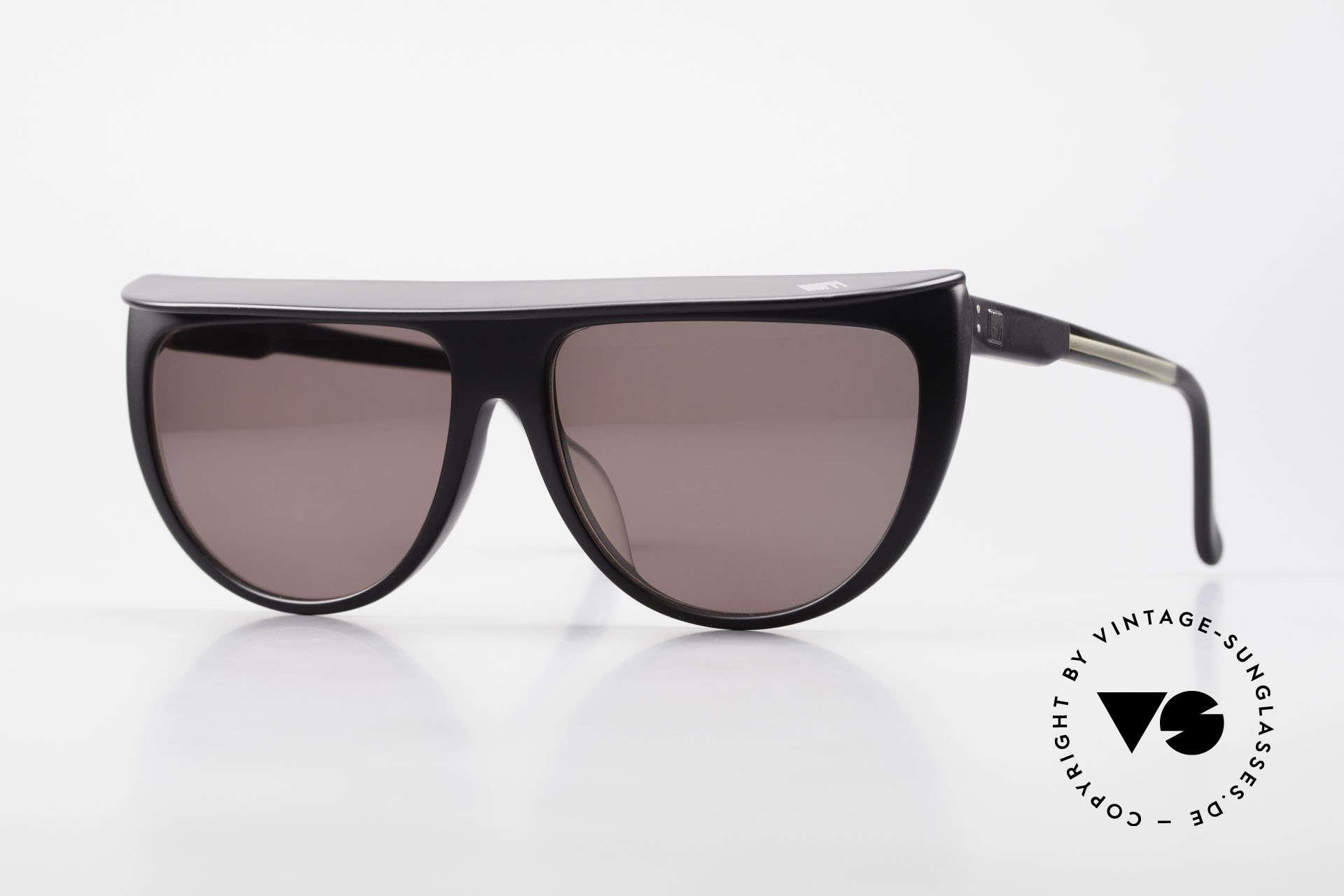 Ugppi 9801 Markisen Sonnenbrille 90er, vintage 90er Insider-Sonnenbrille namens Ugppi 9801, Passend für Herren und Damen
