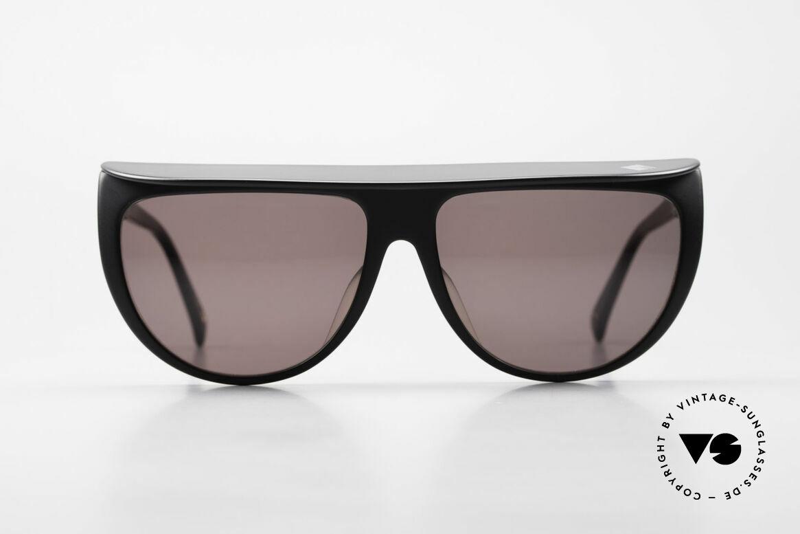 Ugppi 9801 Markisen Sonnenbrille 90er, sehr massive Fassung in top 'made in Japan' Qualität, Passend für Herren und Damen
