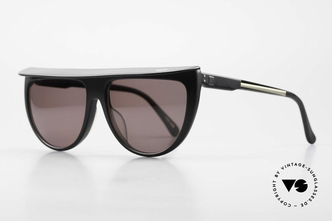 Ugppi 9801 Markisen Sonnenbrille 90er, Designer-Sonnenbrillen mit einem Vordach / Markise, Passend für Herren und Damen