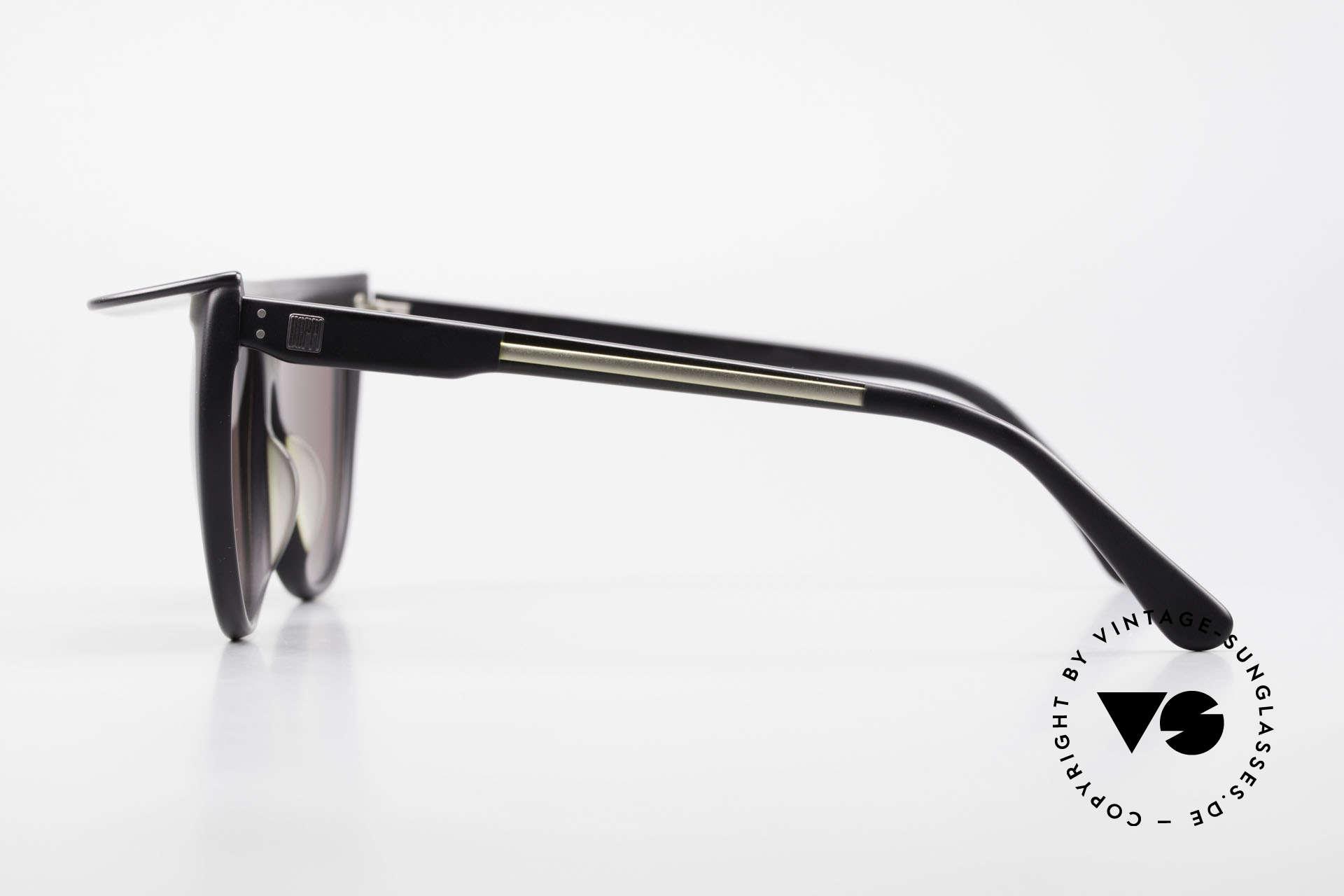 Ugppi 9801 Markisen Sonnenbrille 90er, mal was anderes, interessantes Einzelstück, Rarität!, Passend für Herren und Damen