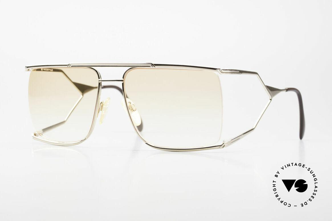 Neostyle Nautic 6 Miami Vice Vintage Brille 80er, berühmte Neostyle Nautic Brillen-Serie d. 70er/80er, Passend für Herren