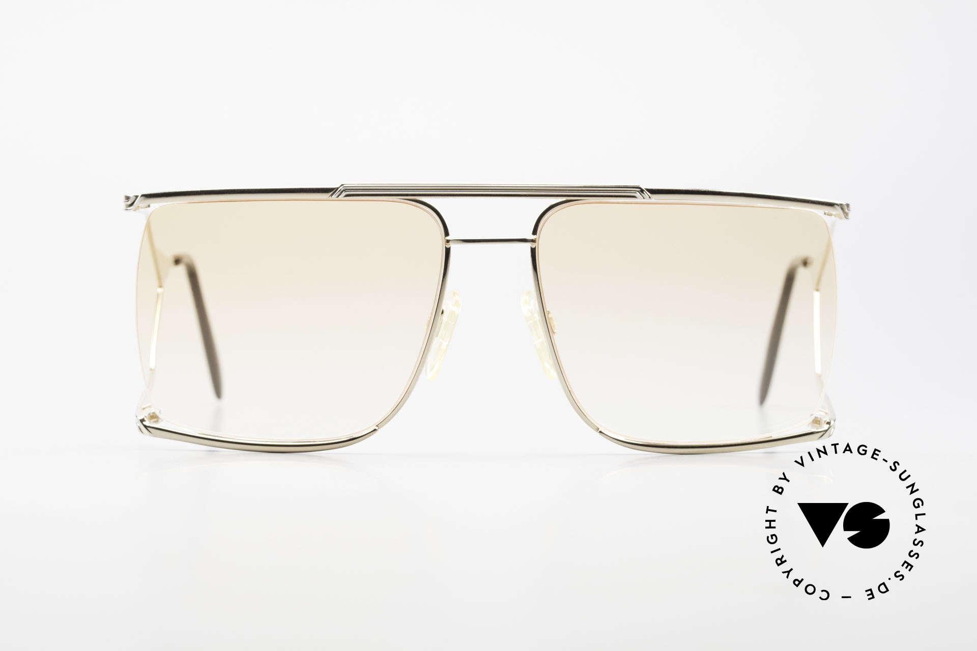 Neostyle Nautic 6 Miami Vice Vintage Brille 80er, extrem ausgefallenes Design mit markanten Bügeln, Passend für Herren