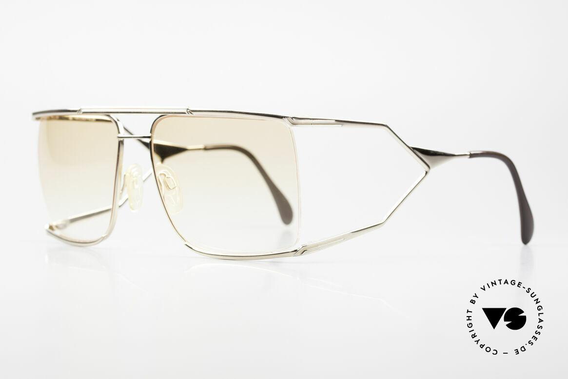 Neostyle Nautic 6 Miami Vice Vintage Brille 80er, getragen von JOSEPH TURKEL in Miami Vice, 1988, Passend für Herren