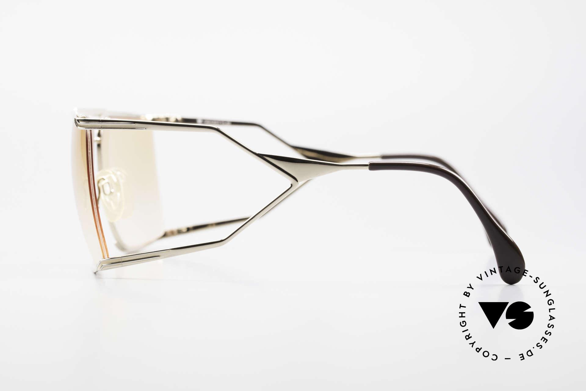 Neostyle Nautic 6 Miami Vice Vintage Brille 80er, ein absoluter Hingucker und begehrtes Sammlerstück, Passend für Herren