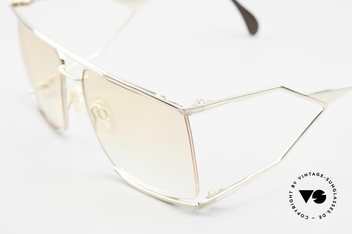 Neostyle Nautic 6 Miami Vice Vintage Brille 80er, sehr selten, wahrscheinlich eines d. letzten Exemplare, Passend für Herren