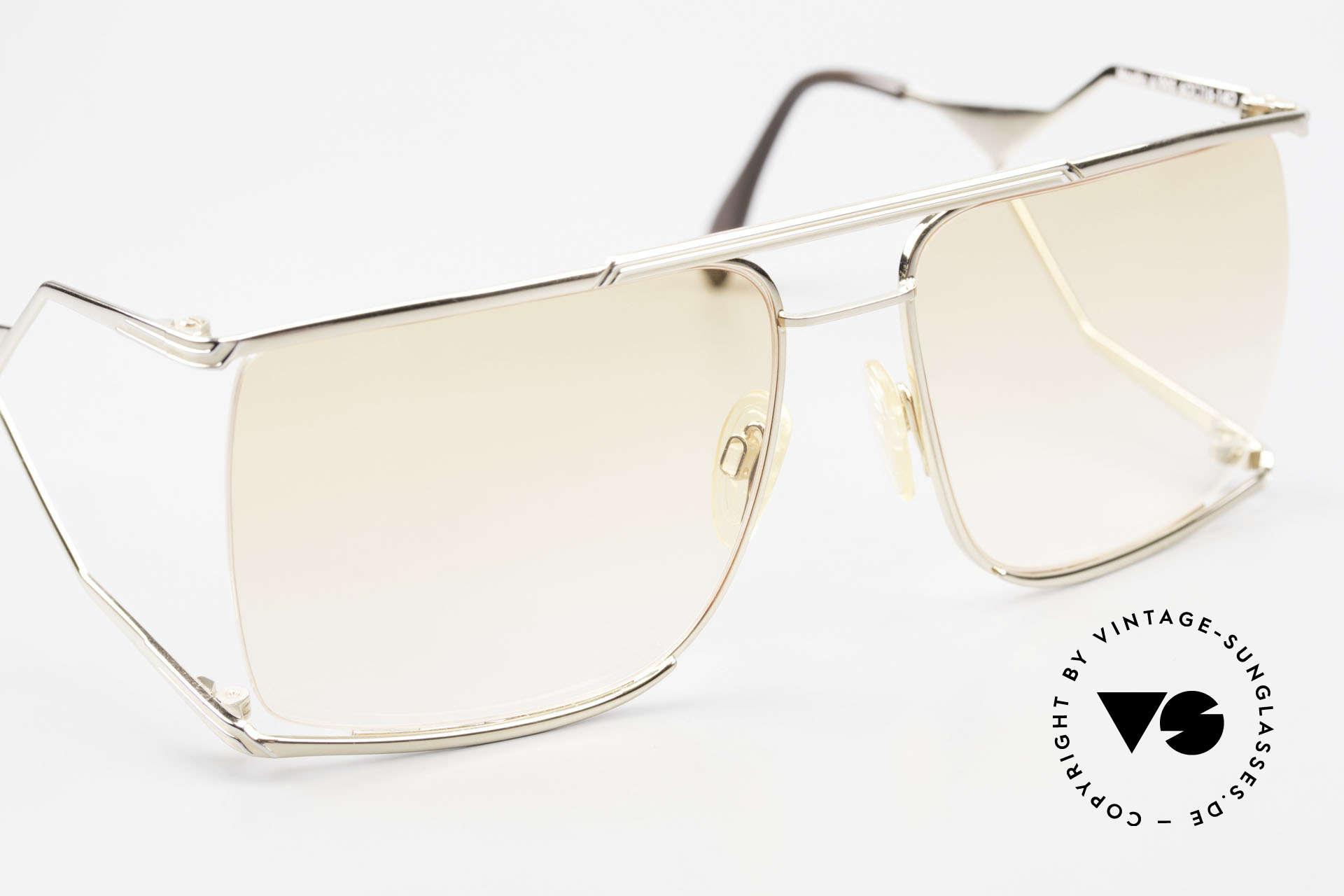Neostyle Nautic 6 Miami Vice Vintage Brille 80er, ungetragenes Einzelstück (mit original Neostyle Box), Passend für Herren