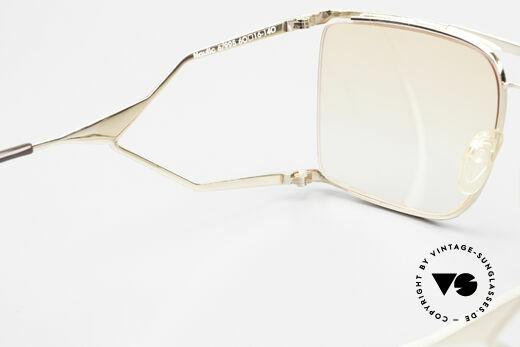 Neostyle Nautic 6 Miami Vice Vintage Brille 80er, Sonnengläser in orange-Verlauf (auch abends tragbar), Passend für Herren