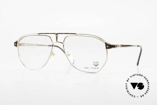 MCM München 6 XL Luxus Vintage Brille 90er Details