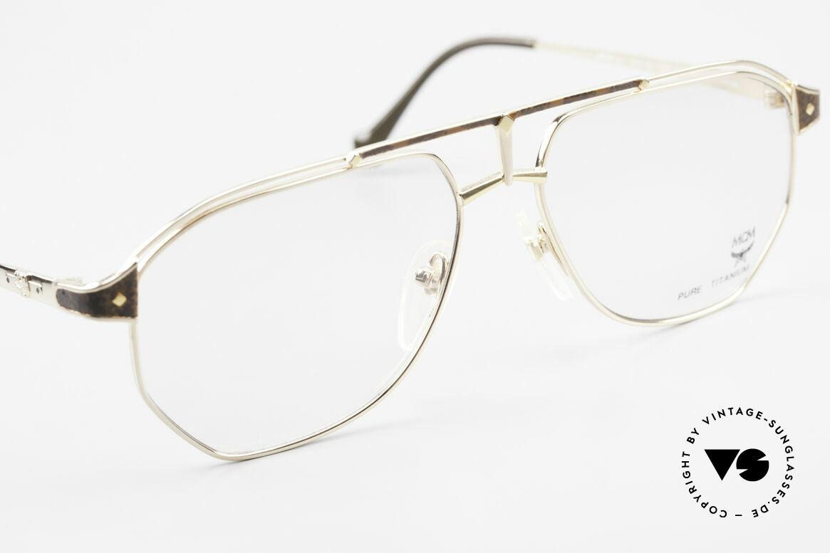MCM München 6 XL Luxus Vintage Brille 90er, Michael Cromer (MC), München (M) Luxus-Brille, Passend für Herren