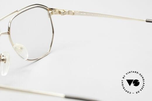 MCM München 6 XL Luxus Vintage Brille 90er, KEINE Retromode; ein mind. 25 Jahre altes Unikat, Passend für Herren