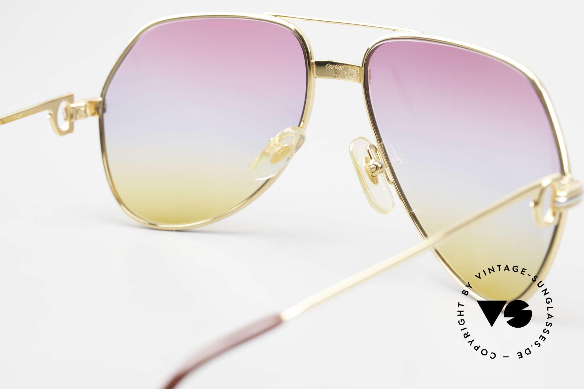 Cartier Vendome LC - M 80er 90er Aviator Sonnenbrille, KEINE Retrobrille, sondern ein altes vintage ORIGINAL!, Passend für Herren und Damen