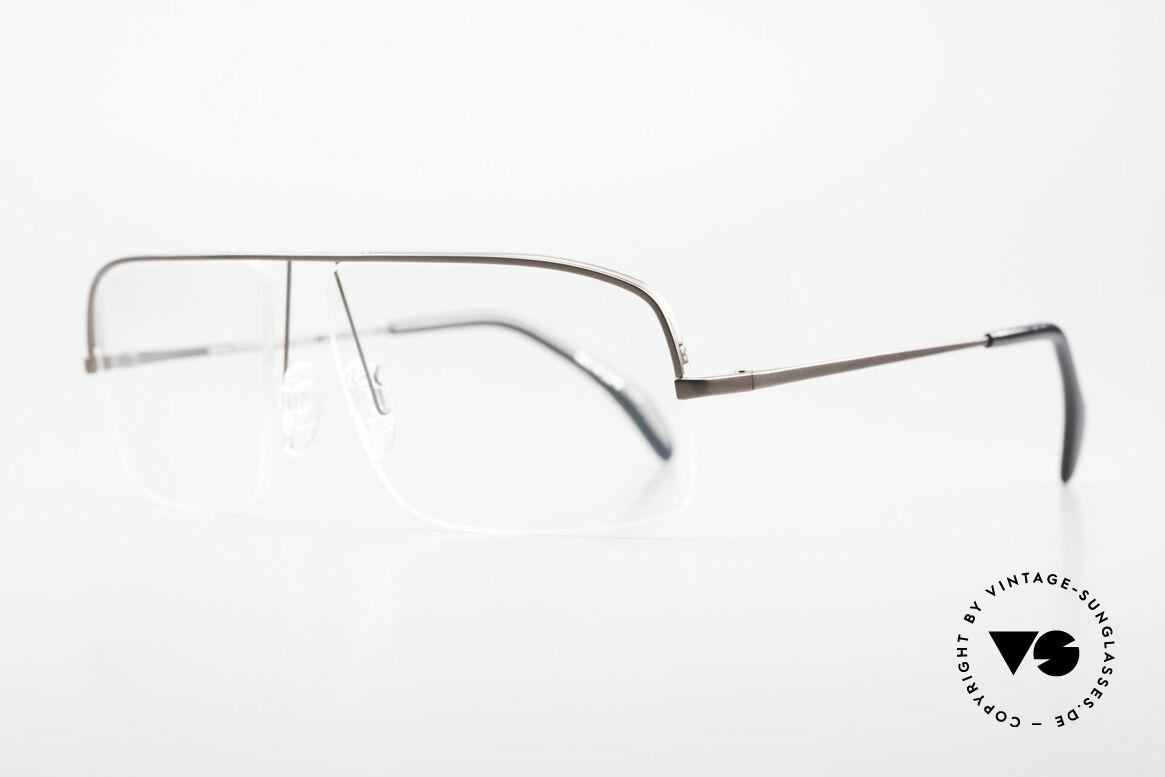 Wolfgang Proksch WP0103 New Tear Drop Titanfassung, schlichtes Design & japanisches Qualitäts-Streben!, Passend für Herren