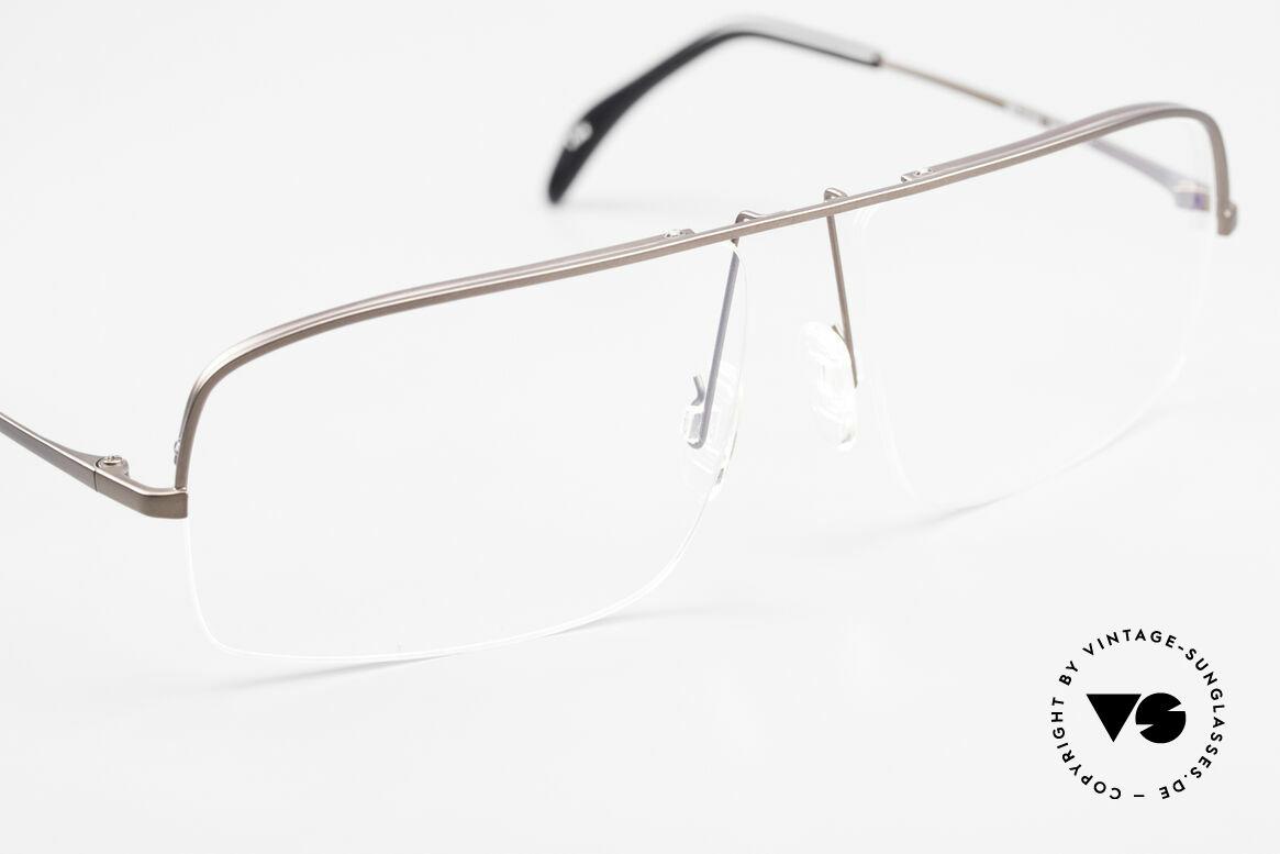 Wolfgang Proksch WP0103 New Tear Drop Titanfassung, KEINE RETRObrille; ein circa 20 Jahre altes Unikat!, Passend für Herren