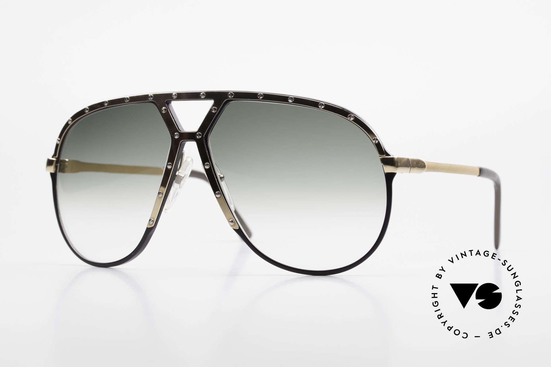 Alpina M1 80er Sonnenbrille W Germany, alte Alpina M1 80er WEST GERMANY Sonnenbrille, Passend für Herren