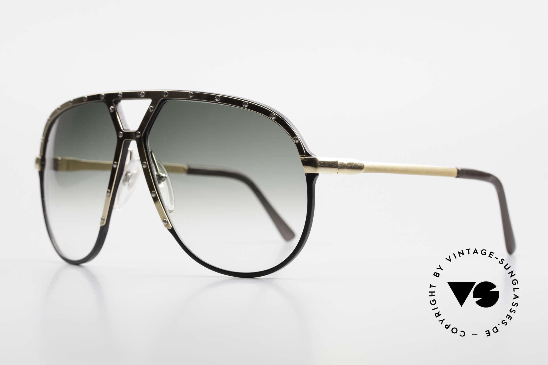 Alpina M1 80er Sonnenbrille W Germany, zu sehen auf Plattencovern, Fotos und Konzerten, Passend für Herren