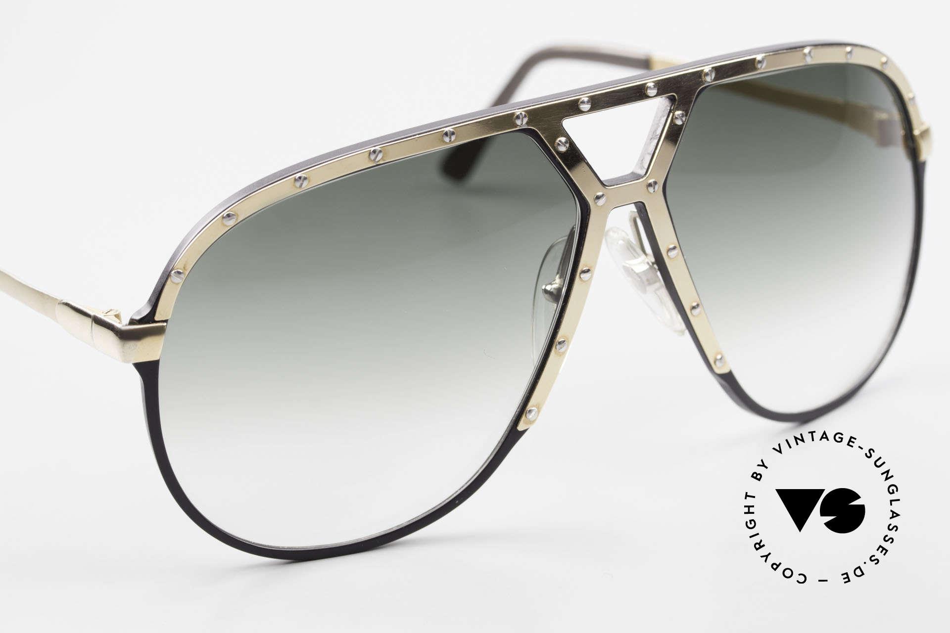 Alpina M1 80er Sonnenbrille W Germany, ungetragenes Sammlerstück (inkl. BVLGARI Etui), Passend für Herren