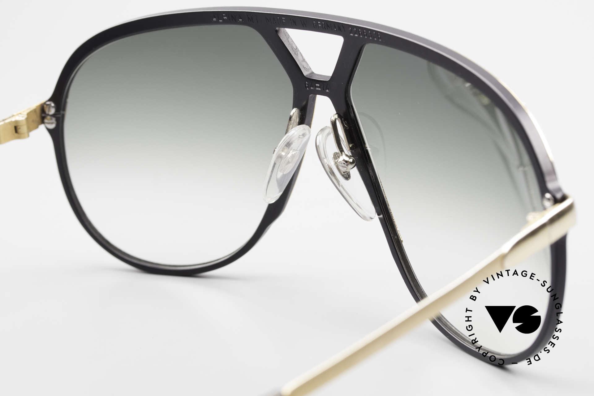 Alpina M1 80er Sonnenbrille W Germany, KEINE RETROBRILLE; die alte Legende von 1986, Passend für Herren