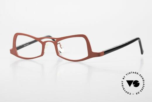 Theo Belgium Eye-Witness JK Pure Titanium Damenbrille Details