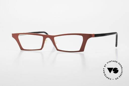 Theo Belgium Eye-Witness JJ Damenbrille Pure Titanium Details